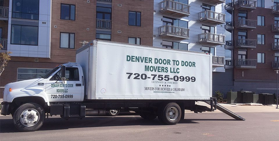 Moving Truck. Moving Services. Movers Denver